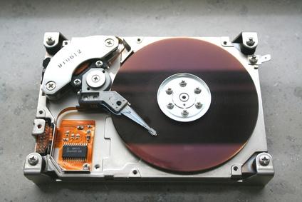 Festplatten-Lagerung